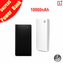 Original Oneplus Power Bank 10000mAh External Battery Pack Portable Mobile Charger Dual USB Output For Cell Phones Tablet PC