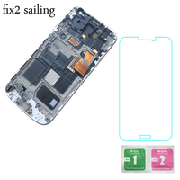 New Super AMOLED LCD Display 100 Tested Working Touch Screen Frame Assembly For Samsung Galaxy S4