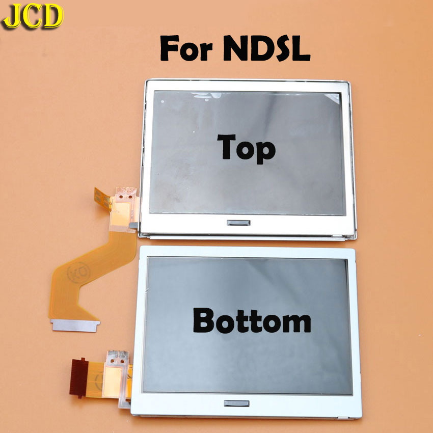 Image 3 - JCD 1pcs Top Bottom Upper Lower LCD Screen Display For Nintend DS Lite NDS NDSL NDSi for 3DS New 3DS LL XL for GBA SP-in Replacement Parts & Accessories from Consumer Electronics