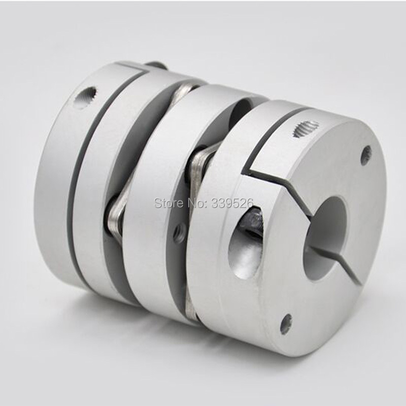 Aluminum alloy  Shaft Coupling Flexible Coupler Motor Connector D39L49 for co2 laser mechanical optical parts free shipping 10pcs tip35c tip35 to218 in stock
