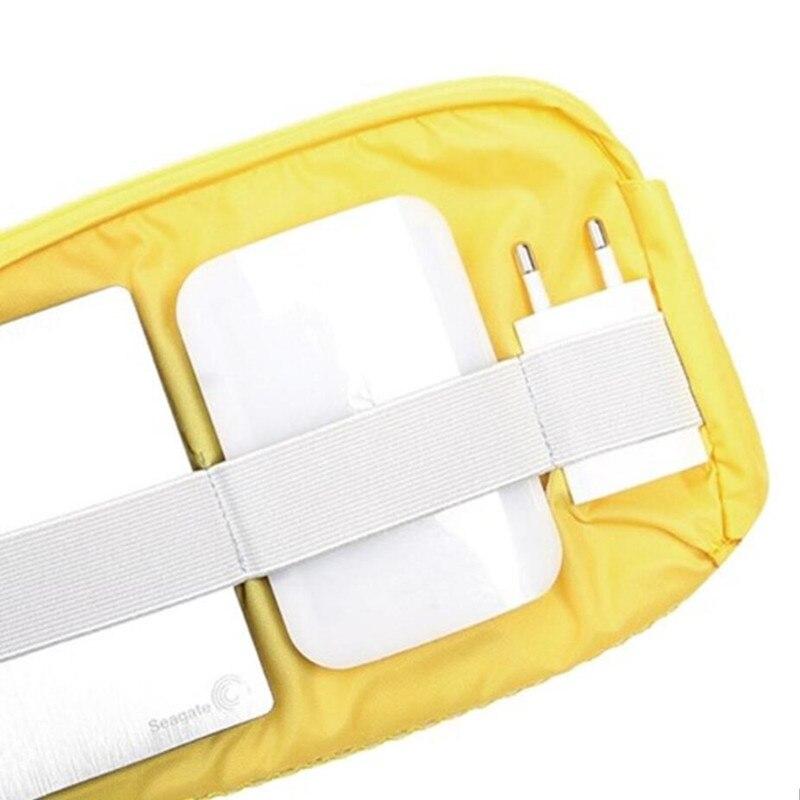 Nya Elektroniska Tillbehör Resväska Nylon Män och Kvinna - Väskor för bagage och resor - Foto 4