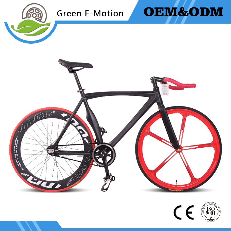 2017 New Young Sports Women Man Drive Aluminum Alloy Frame Wind Break Handle 700C Fixed Gear Bicycle 700C Road Bike Bicicleta 3 blade 4818 propeller for rc electric methanol racing boat o yacht model 7075 aluminium alloy rc boat cw ccw propeller 48mm