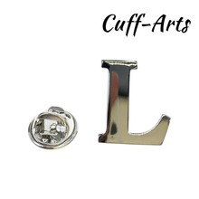 Cuffarts A-Z Letters Lapel Pin 2018 Alphabet Badges Men Jewelry Brooch Pins For Women Or P10019
