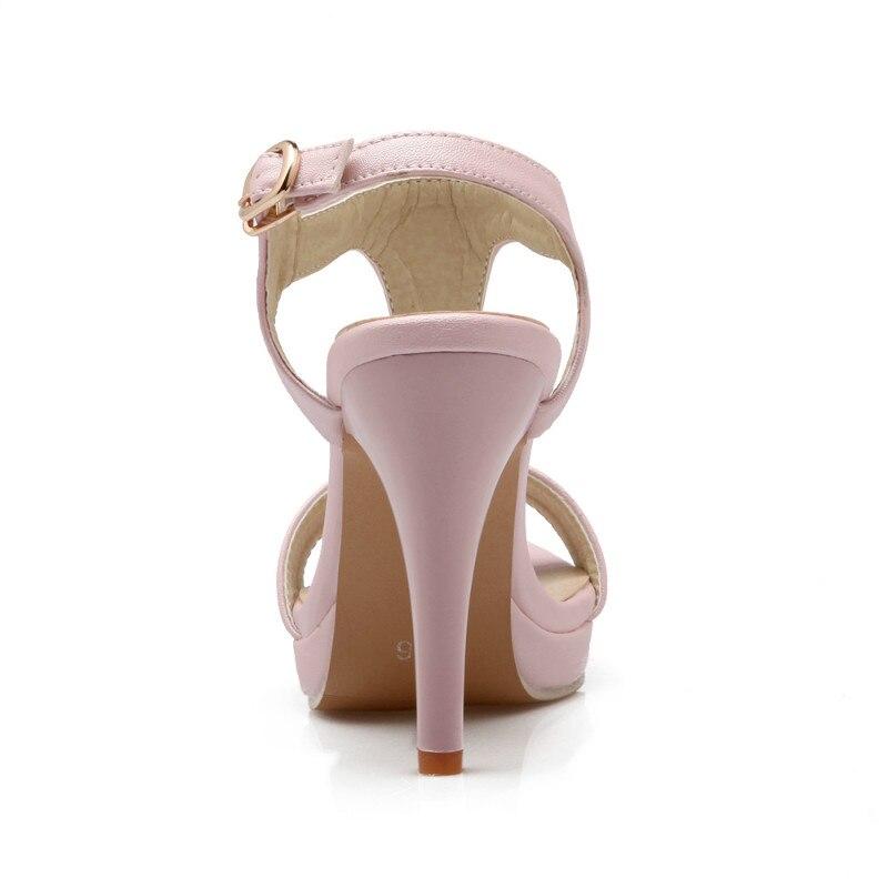 Poisson blanc Sexy rose Talons Pompes Hauts pourpre De Perle Femmes Tête Banquet Mode Chaussures Sandales Bleu RgawA