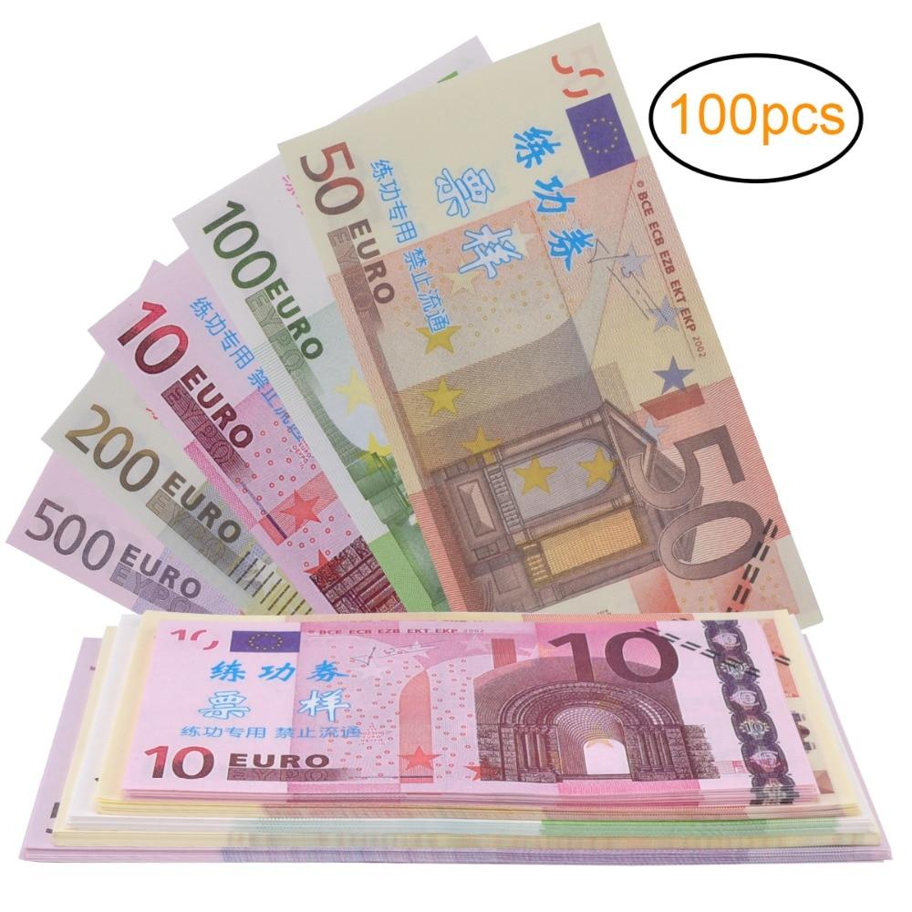 Discount Prop Money Play Money Pretend euro money Full Print
