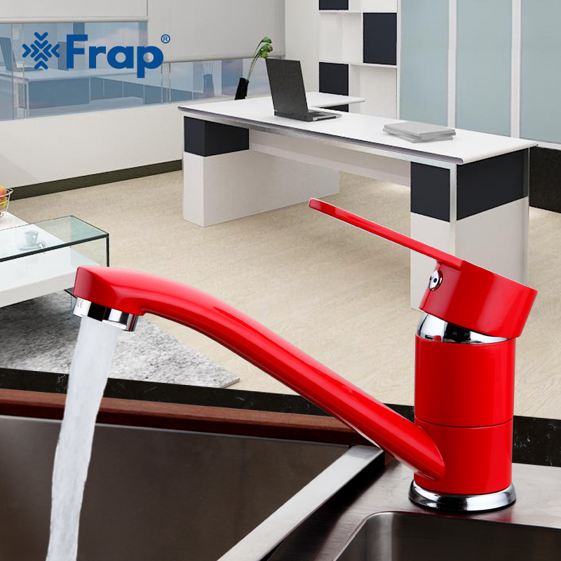FRAP Modern Kitchen Sink Faucet Mixer Cold and Hot Tap Single Hole Water Tap torneira cozinha Rotate 360 degrees F4543