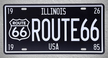 1 pc Illinois Route 66 USA Road car license cafe bar Tin Plates Signs garage wall man cave Decoration Metal Art Vintage Poster 1 pc tires shop premium car mechanic shop store garage usa tin plates signs wall man cave decoration metal art vintage poster