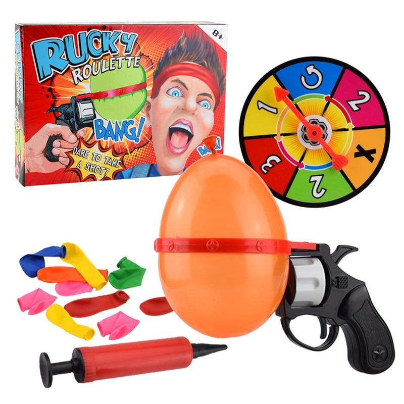 Rosyjska ruletka Party Balloon Gun Model Kreatywne zabawki dla - Nowości i Gag zabawki - Zdjęcie 6