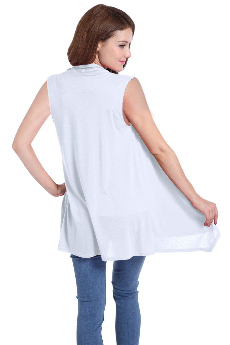 Echoine Women Vest Cardigan Coat Sleeveless Knitted Softly Bat Type Slim Outdoor Sportswear Jackets Fashion Female Outerwear in Vests amp Waistcoats from Women 39 s Clothing