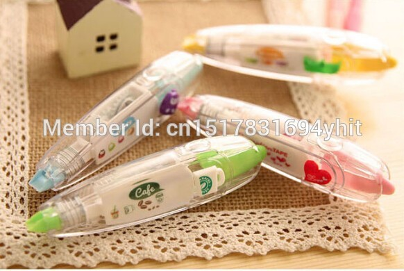 Korea-Stationary-Sweet-Floral-Correction-Tape-Pen-Sticker-Kids-Students-Decorative-Masking-Tapes-Adesivos-Label-Tape-Stickers-5