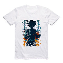 Goku DRAGON BALL Z ONE PIECE Zoro/Luffy/Portgas D Ace Cartoon Art Pattern Modal Mens T-Shirt