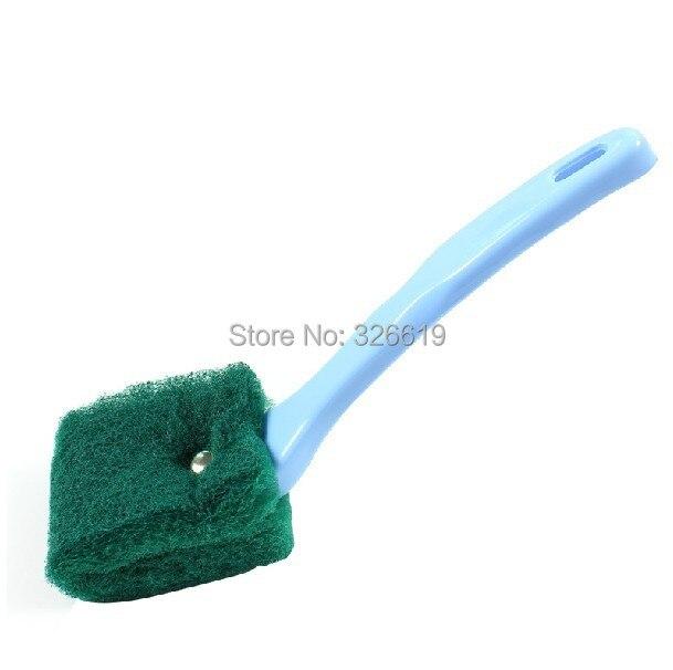 Envío libre pote del cepillo de limpieza cepillo de la cacerola con mango del ce