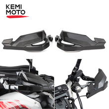 цены KEMiMOTO Motorcycle Handle Guard Scooter Brush Bar Hand Guards For Yamaha MT07 MT09 XSR700 SXR900 MT 07 For Kawasaki Z900 2017