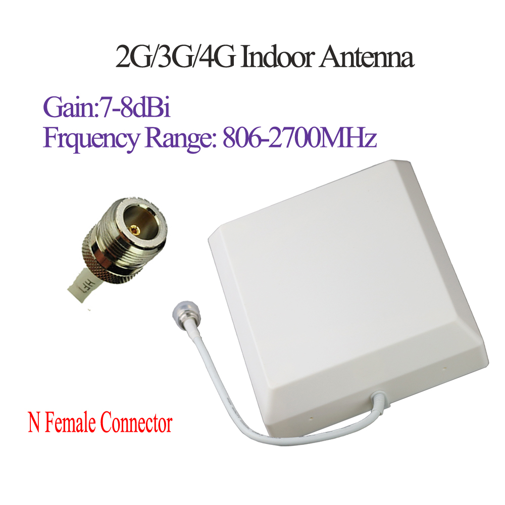 Image 2 - ZQTMAX 806   2700MHz 2G 3G 4G CDMA GSM DCS PCS UMTS LTE Panel antenna for Mobile Cell Phone Signal booster-in Communications Antennas from Cellphones & Telecommunications