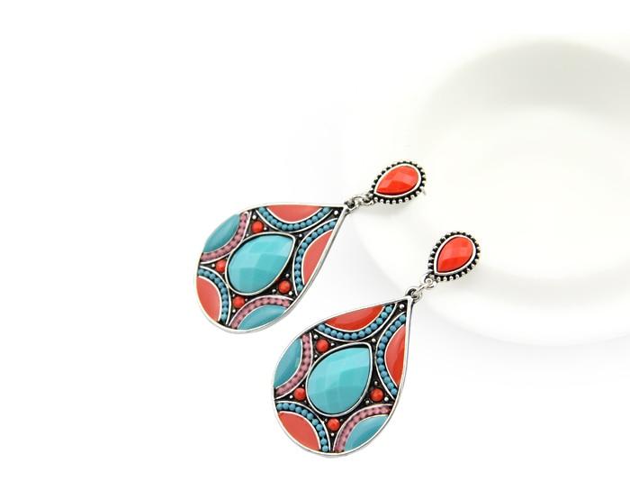 HuiMei Ethnic 2018 Novi dolazak Moda za žene Smola perle Link - Modni nakit - Foto 5