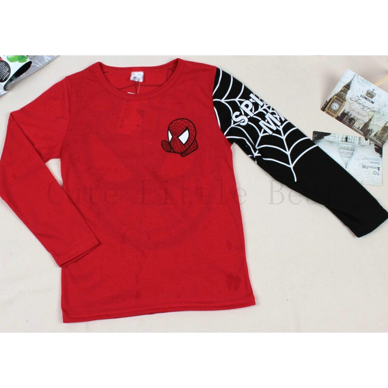 Kids Boys T Shirt Printing Cotton Long Sleeve T Shirts