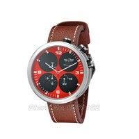 48mm Parnis Red Black Sandwich Dial Chronograph Quartz Mens Watch PA805