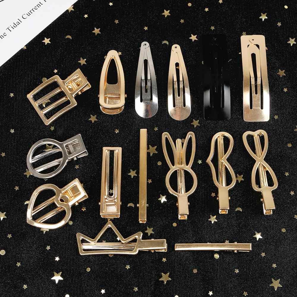 1 pieza DIY Barrette de aleación hecha a mano pinzas para el cabello peine Base en blanco suministros configuración para la fabricación de joyas horquillas accesorios de tocado