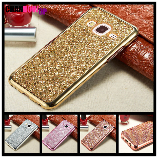 Full Bling Case For Samsung Galaxy J1 J2 J3 J5 J7 2016 2017 Prime Grand Duos Metal NEO NXT Core A3 A5 A8 Plus 2018 Cover Funda
