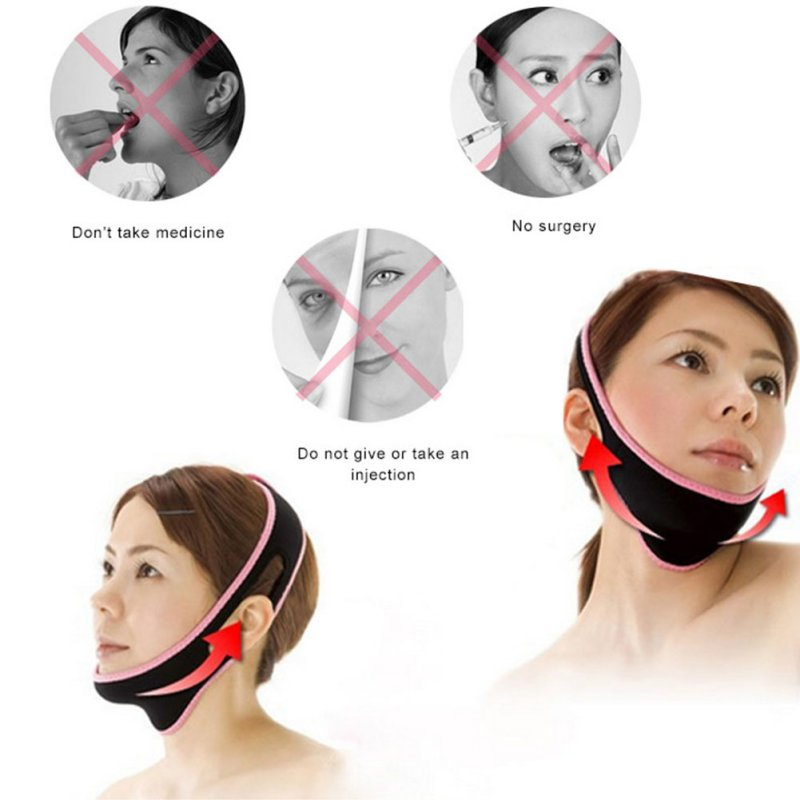 Face Lift Up Belt Sleeping Face-Lift Mask Massage Slimming Face Shaper Relaxation Facial Slimming Bandage TF health care body massage beauty thin face mask the treatment of masseter double chin mask slimming bandage cosmetic mask korea
