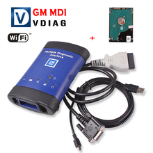 2016 New arrival Diagnostic tool for GM MDI scanner for gm mdi wifi with hdd software High Quality DHL Free Shipping