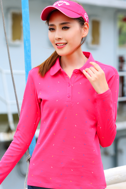 Женщины поло одежда военная нагрудные с длинным рукавом хлопок поло женщин печати camiseta поло feminina новые производители поставляют женские