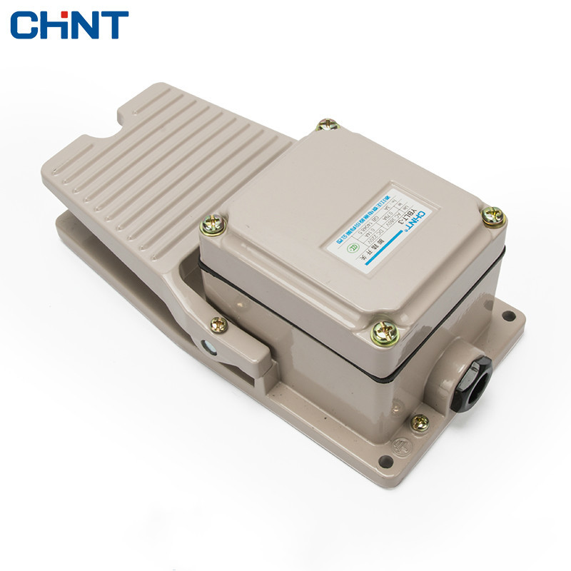 CHINT Foot Switch 220V Punch Lathe Machine Waterproof Foot Switch Pedal YBLT-3380V hot sale lt4 202h factory price cheap ce newest latest metal double pedal foot switch for bending machine punch
