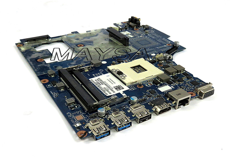 High quality laptop motherboard for Lenovo G780 QIWG7 LA-7983P HM76 PGA989 DDR3 100% Fully tested high quality suitable for lenovo y500 laptop motherboard qiqy6 la 8692p pga989 gt650m 2gb ddr3 hm76 package well