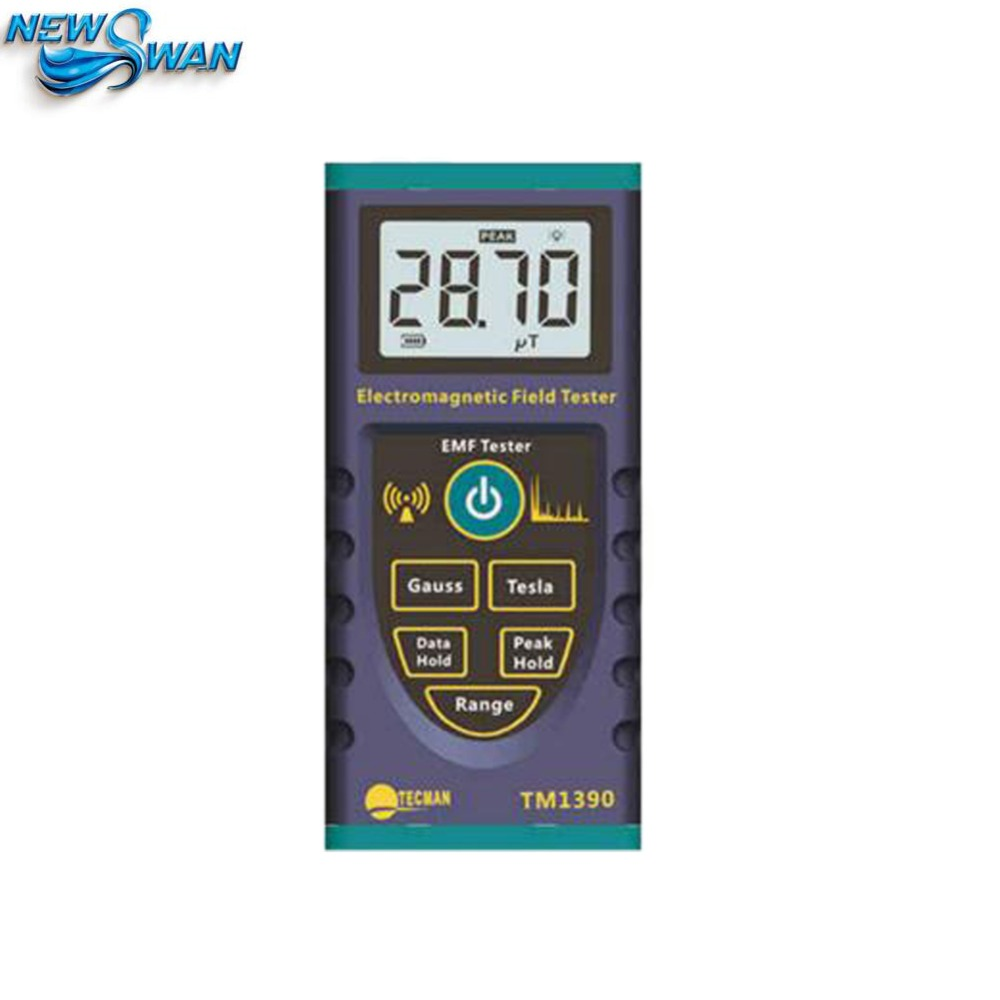 TM-1390 TM1390 digital EMF tester, gauss meter with measuring the magnetic field radiation tester optometric economic digital pupillometer cx8 stable quality ce marked accurate measuring pd meter