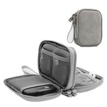 Double Layer Business Travel Accessories Bags Waterproof Digital Pack Organizer Passport Covers Bag Phone Key Storage Pouch