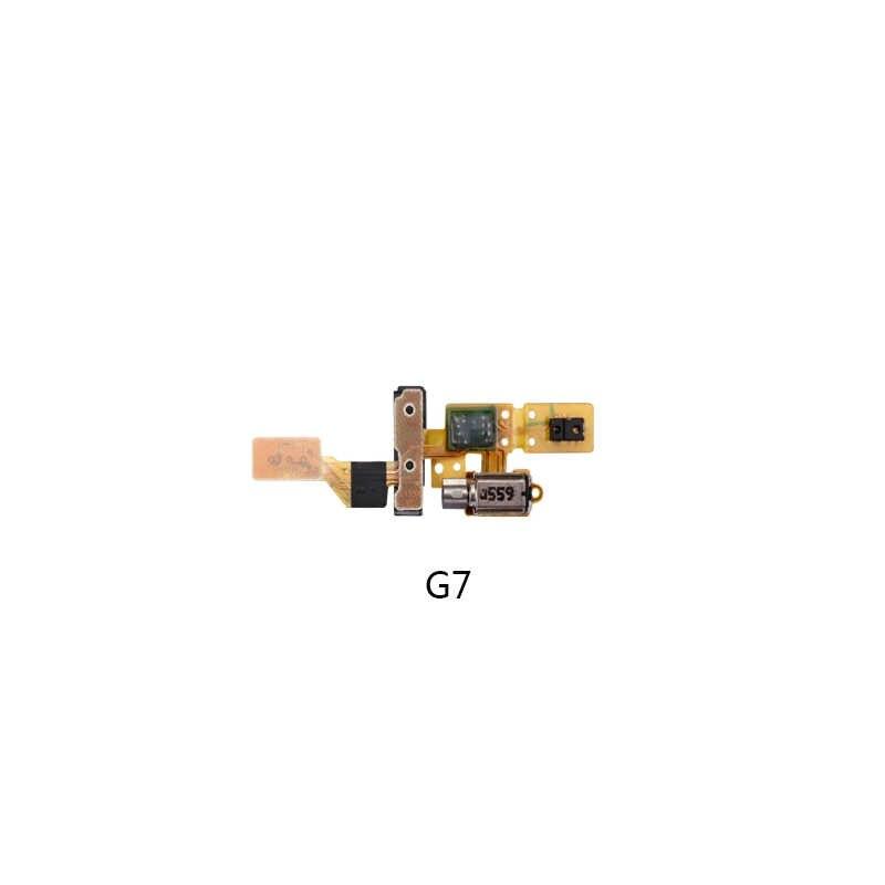 Pour Huawei Mate8 9 G7 G8 Buzzer vibrateur moteur Flex câble pièce de rechange pour Huawei P8 P9 P9 Lite 100% Test de travail