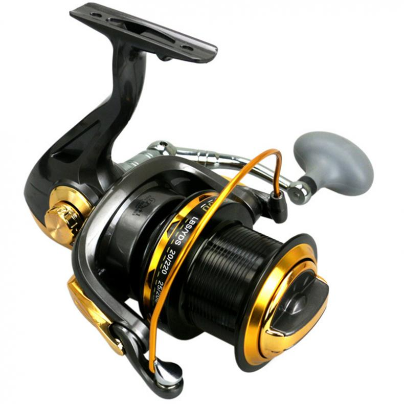 11000 Series 12 1BB 4 6 1 Fishing Reel Trolling Long Shot Casting Spinning Wheel Drag 25KG 55LB with Full Metal Rocker Arm in Fishing Reels from Sports Entertainment