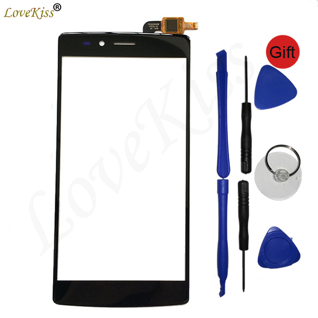 Touchscreen Front Panel For Vernee Apollo Lite Touch Screen Sensor Digitizer LCD Display Outer Glass Cover TP Replacement Tools