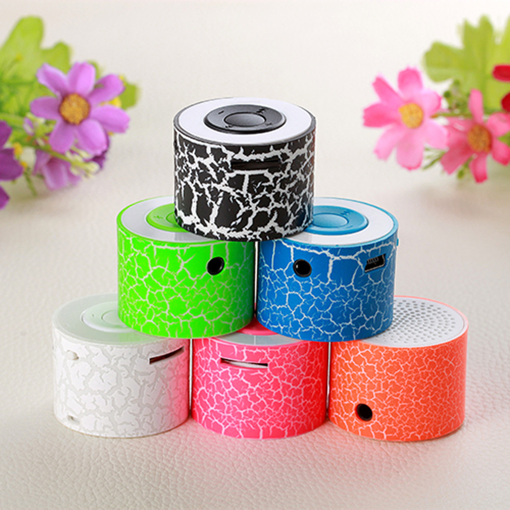 MP3 TF Plastic Speaker Compatibe For U Disk TF/Micro SD Card Portable Mini Stereo Bass Speakers Music Player 1.6 #M09