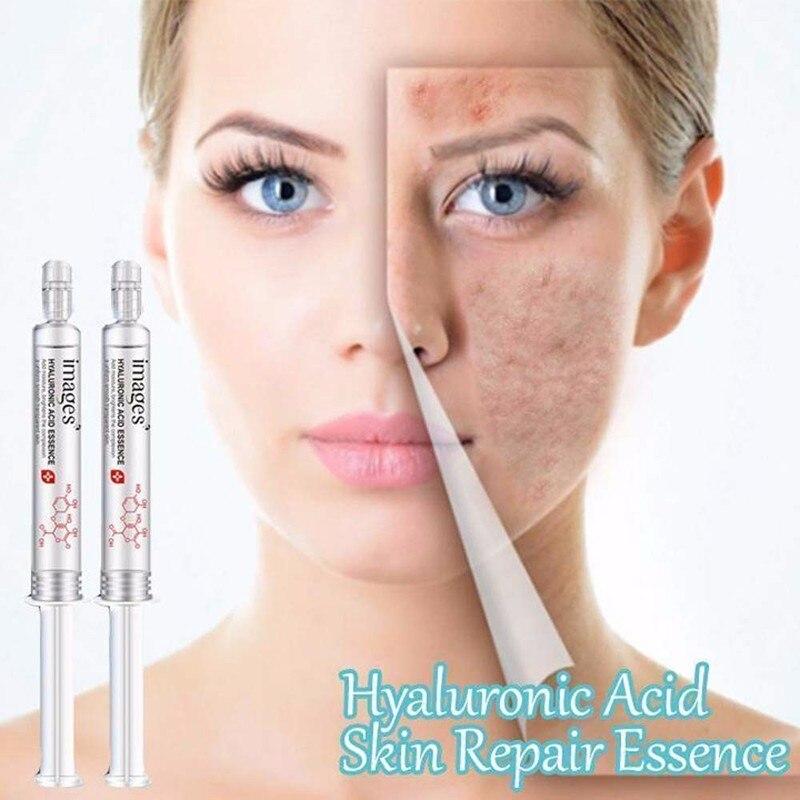 10ml Hyaluronic Acid Skin Repair Face Serum Essence Needle Facial Hydration Moisturizing Anti Wrinkle Anti-Aging Skin Care TSLM1