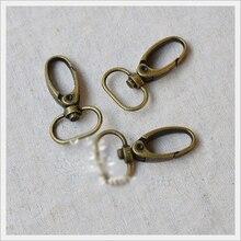 25sets/lot  backpack swivel trigger  bag snap hooks hardware lobster clasp 2cm цена