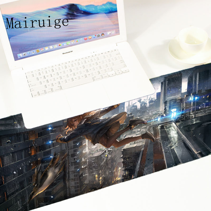 Mairuige High Quality Hot Selling anime artwork Mousepad Game Play for Pc Tablets Mat Mousemat Desk Anti Slip Mousepad DIY