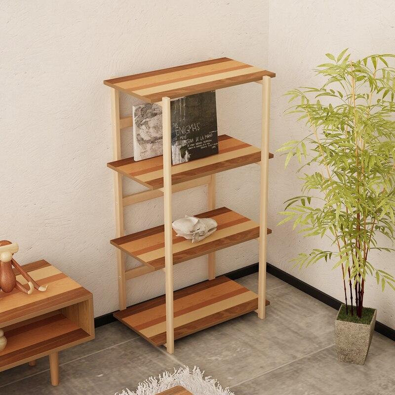 Yi Tong Japonais bois quatre couche étagère de rangement