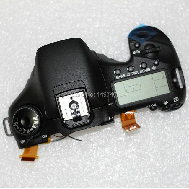 95% Новый оригинальный Верхняя крышка в сборе с Плеча экран и кнопочный переключатель Ремонт частей для Canon EOS 7D DS126251 SLR