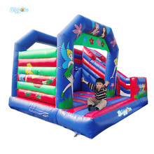 Reasonable Price Inflatable Bouncy Castle Slide Bouncer Combo With Blowers