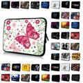 Elegant Butterfly 13 12 15 17 10 14 7 inch Sleeve Laptop Pouch Cases For Macbook Pro Dell Xiaomi Air Toshiba Soft Notebook Bags