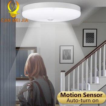 LED Decke Lichter 12 W 18 W Moderne Intelligente PIR Motion Sensor Decke Lampe Licht 220 V Energie Sparende Beleuchtung für Heim Flur Tor