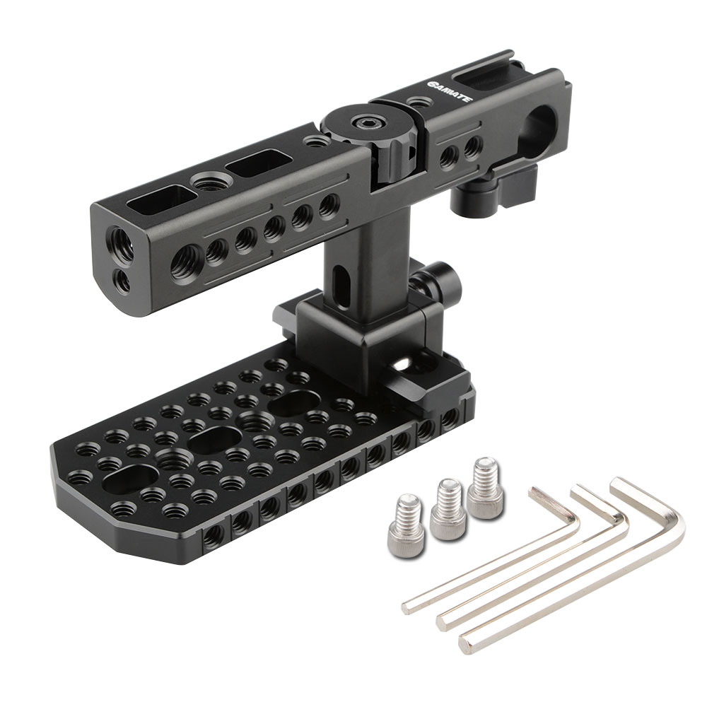 CAMVATE Nato Top Handle with Cheese Plate for BMD Blackmagic URSA Mini (Black Knob) blackmagic decklink bmd pcb26 reva acquisition card