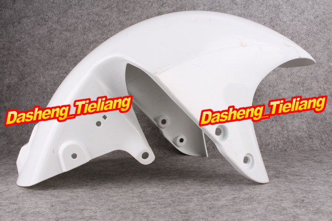 Motorcycle Front Fender for SUZUKI HAYABUSA 2008-2013 GSX1300R Injection Mold Fairing Cover Parts Unpainted White ABS Plastic microwave oven parts plastic injection mold cnc machining household appliance mold