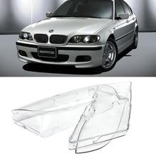 Jeazea автомобиль левая + правая сторона фар объектив для BMW E46 3 серии 325xi 330i 330xi 2002-2004 63126924045 63126924046