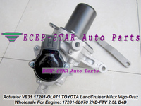 Turbo Actuator VB31 17201 OL071 17201 0L070 17201 OL070 17201 0L071 For TOYOTA LandCruiser Hilux Vigo Oraz DYNA D4D 2KD FTV 2.5L