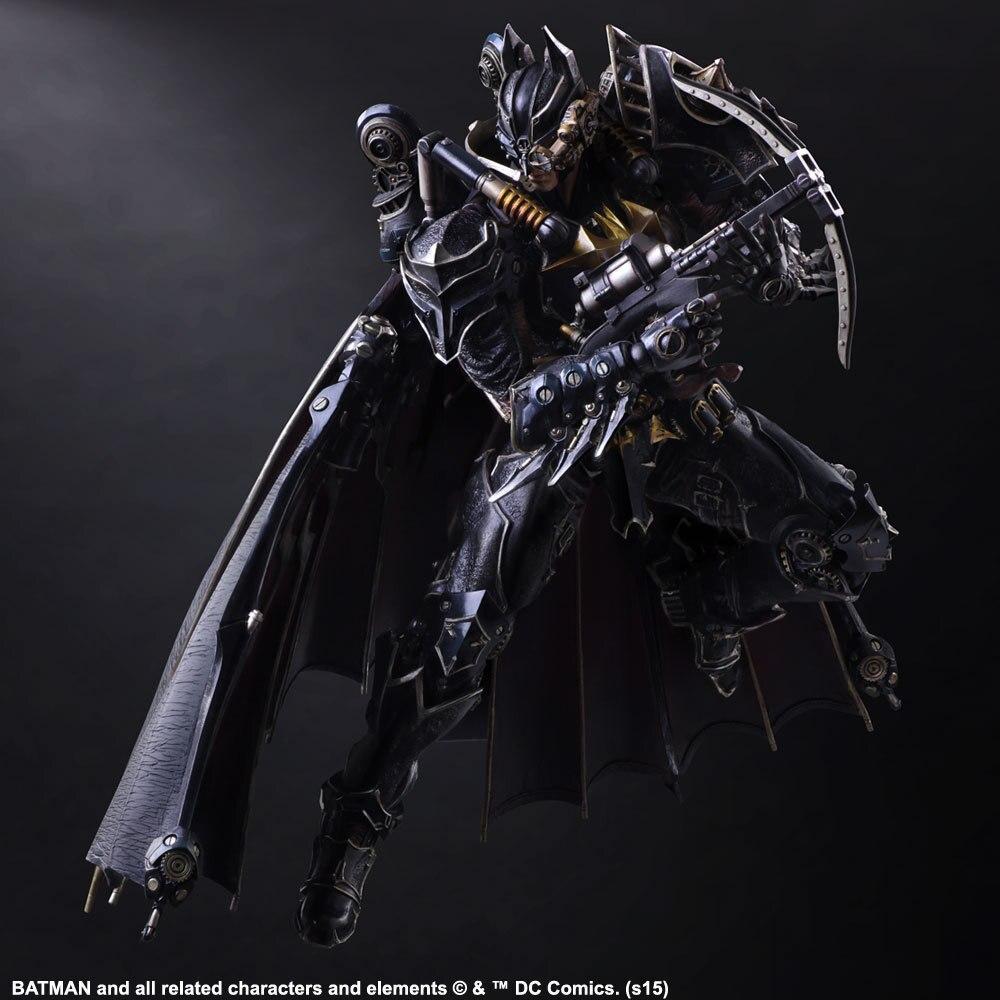 Jouer Arts intemporel vapeur Punk Batman figurine Action modèle jouets 25 cm
