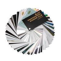 Nano Ceramic Solar Film Window Tint Privacy Glass Vinyl for Car,Home Window 1pc Sample Books