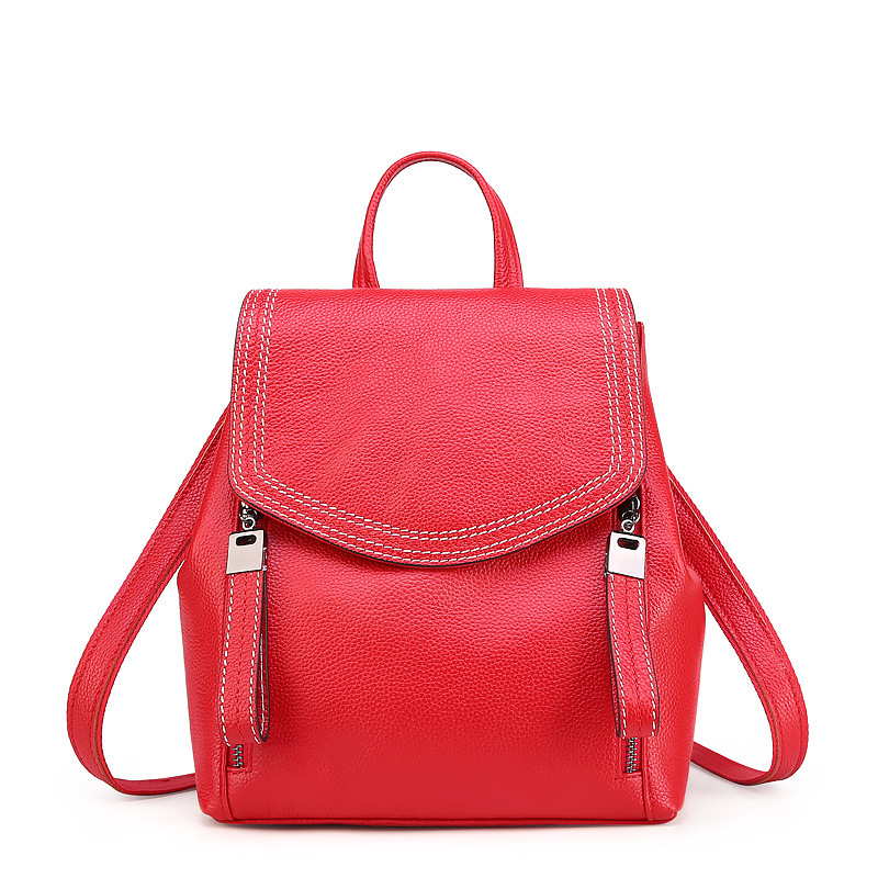 Women Leather Backpacks Female Shoulder Bag Leather Women's Backpack Ladies Shoulder Bag School Bag For Teenage Girl