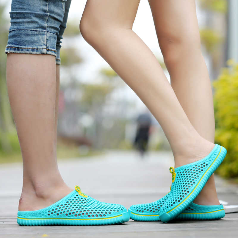 Kadın Erkek su ayakkabısı Yaz Nefes Yüzme Plaj Aqua Ayakkabı Hafif Açık spor ayakkabılar zapatos deportivos mujer 45